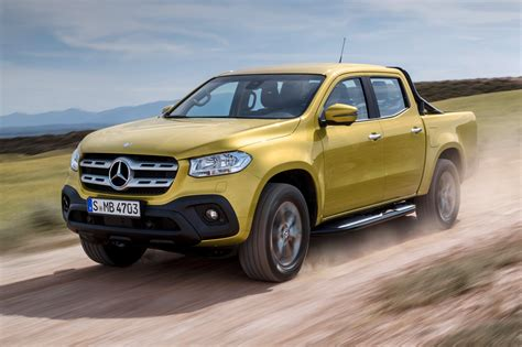 New Mercedes Benz X class pickup revealed in full by CAR ...