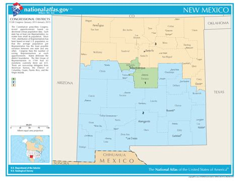 New Mexico Congressional Districts Map: Find a US ...