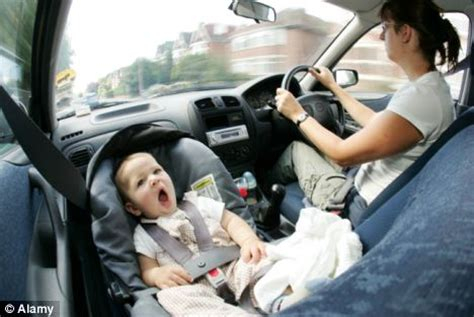 New parents drive over 1,300 miles a year driving their ...