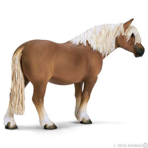 *NEW* SCHLEICH 13280 Haflinger Hafling Gelding - Horse ...