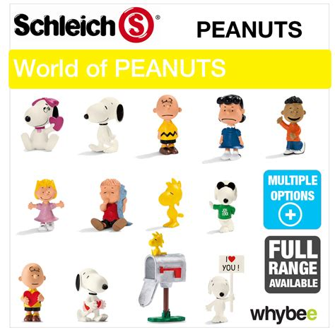 NEW! SCHLEICH PLASTIC FIGURES & FIGURINE SETS from PEANUTS ...