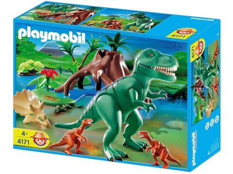 NEW/SEALED Playmobil 4171 T-Rex With Velociraptors ...