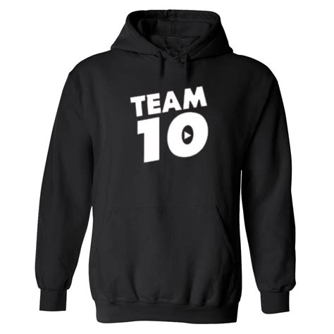 New Team 10 Jake Paul Tie Dye youtube Hoodie sweatshirt ...