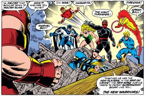 'New Warriors': Who Are Marvel's Next TV Superheroes ...