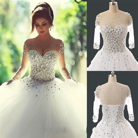 New White Wedding Dress Bride Gown stock Size 6-8-10-12-14 ...