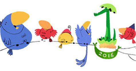 New Year's Google doodle hatches unexpected surprise
