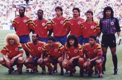 News From Colombia history | Colombia World Cup squad 1994 ...