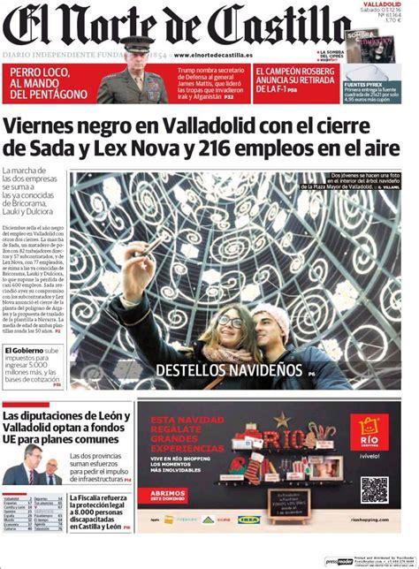 Newspaper Norte de Castilla - Valladolid (Spain ...
