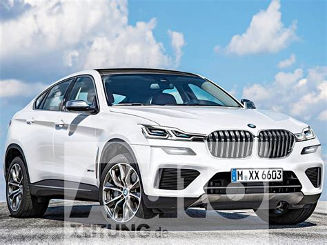 Next generation BMW X6 scheduled for 2021   Rendering