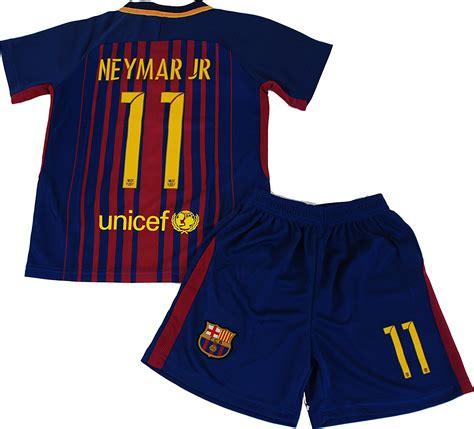 Neymar Jr #11 2017-2018 NEW FC Barcelona Home Jersey ...