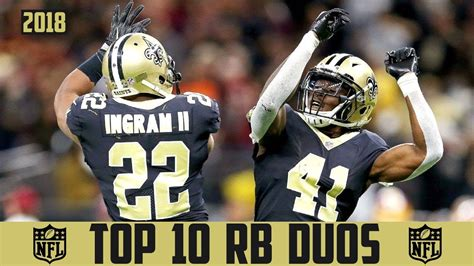 NFL Top 10 RB DUOs 2018 - BEST NFL RUNNING BACK DUO (NFL ...