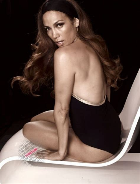 ¡Ni tan guapa! Filtran fotos sin retoque de Jennifer Lopez ...