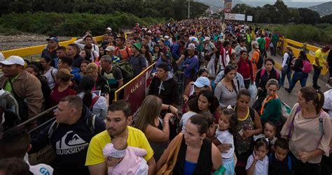 Nicolás Maduro: Migración de venezolanos hacia Colombia