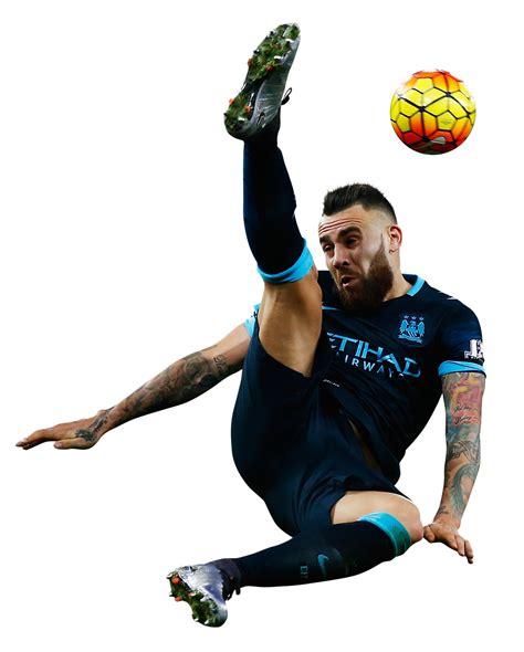 Nicolas Otamendi football render - 20879 - FootyRenders