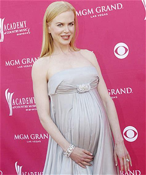 Nicole Kidman's pregnant photos
