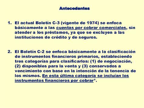 NIF C-3 Cuentas e instrumentos financieros por cobrar ...