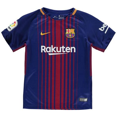 Nike | Nike Barcelona Home Shirt 2017 2018 Junior ...