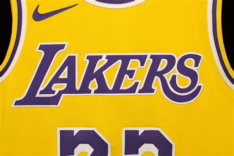 Nike Unveils New LeBron James Los Angeles Lakers Jersey ...