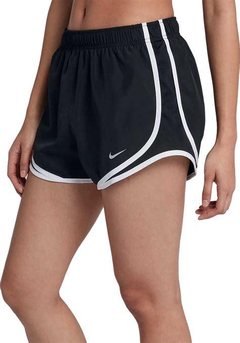 nike womens running shorts black