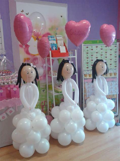 Niñas de comunión | Decoracion en globos | Pinterest ...
