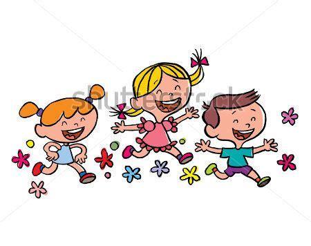 niños corriendo dibujo animado   Buscar con Google ...
