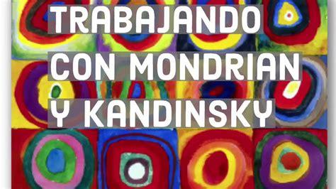 Niños trabajando con Mondrian y Kandinsky   YouTube
