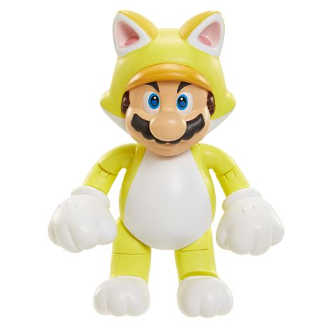 Nintendo Super Mario 4 in Figure  Cat Mario with Bell