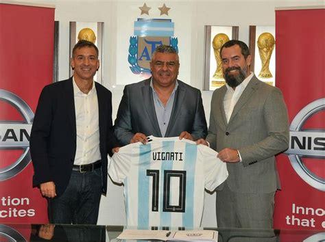 Nissan es el nuevo patrocinador de la Selección Argentina ...