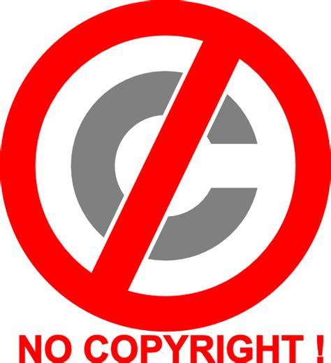 No Copyright Icon Clip Art at Clker.com   vector clip art ...