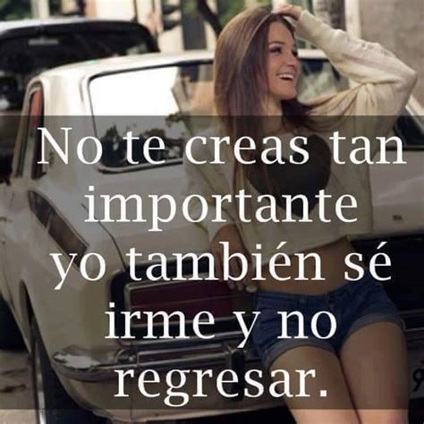no te creas tan importante