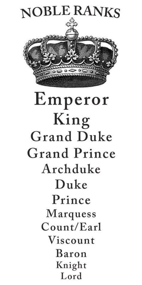 Noble Ranks   {People} Royal Tea   Pinterest   High ...