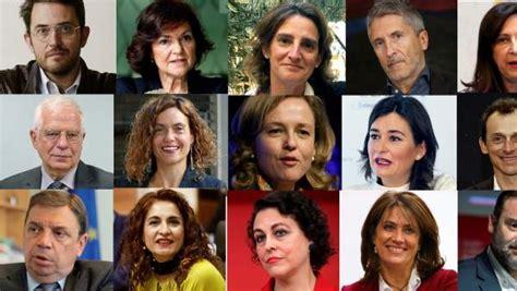 Nombramiento de ministros del Gobierno de Pedro Sánchez en ...