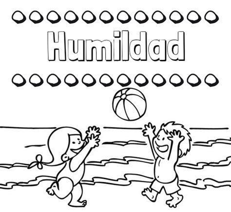 Nombre Humildad: Hacer un dibujo del nombre en la playa