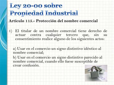 Nombres Comerciales e Industriales (Presentacion)