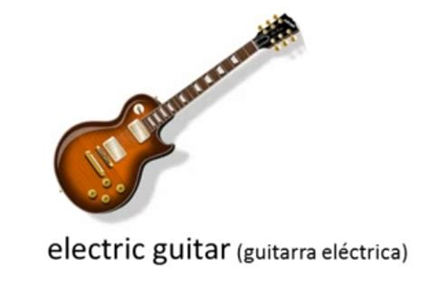 Nombres de los Instrumentos Musicales con Imagenes