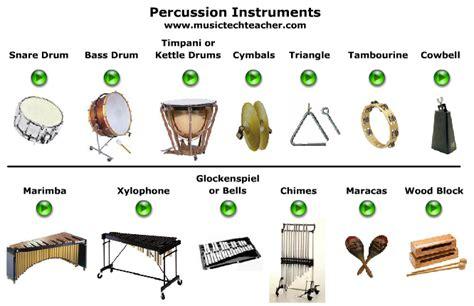 Nombres de todos los instrumentos musicales - Imagui