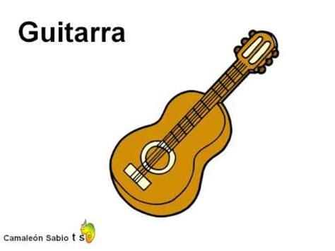 Nombres y sonidos de los instrumentos musicales 1 ...