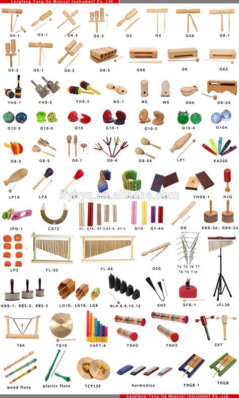 Nomes de instrumentos musicais de brinquedo educativo de ...