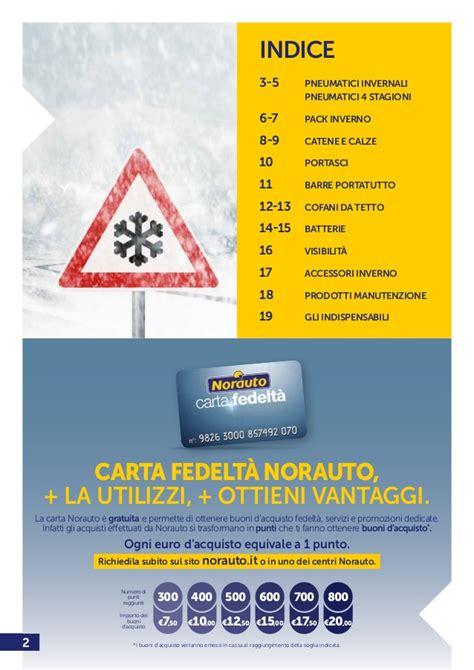 Norauto Italia Catalogo inverno 2015-2016