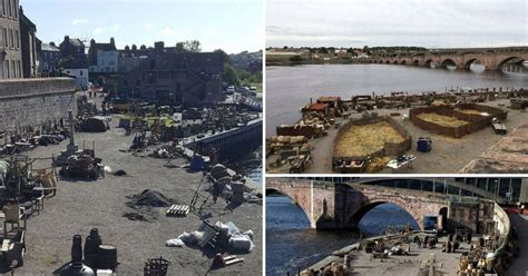 Northumberland town is transformed as filming for Netflix ...