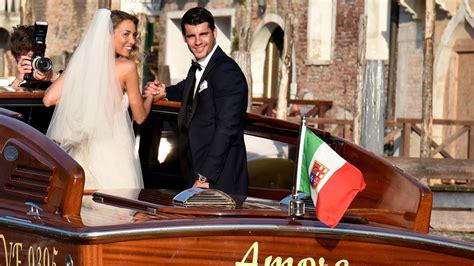 Nos colamos en la boda de Álvaro Morata y Alice Campello
