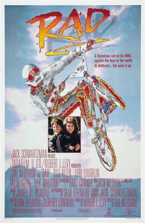 Nostalgia on Wheels: RAD Movie Poster - 1986!