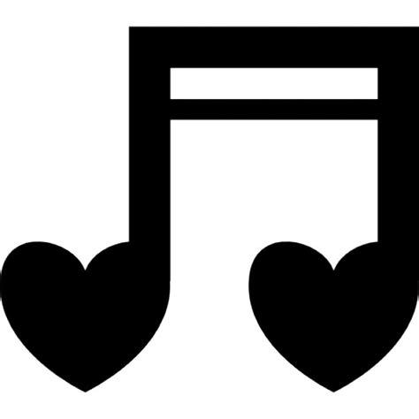 Notas de coração musicais | Download Ícones gratuitos