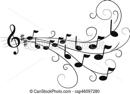 Notas, musical vector   Buscar imágenes de galería ...