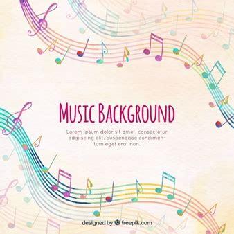 Notas Musicales De Colores | Fotos y Vectores gratis