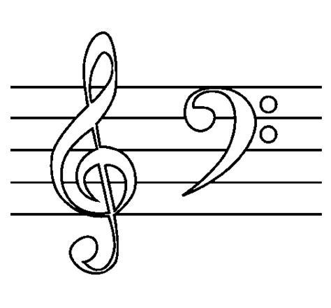 NOTAS MUSICALES PARA COLOREAR CON NIÑOS   Imagui