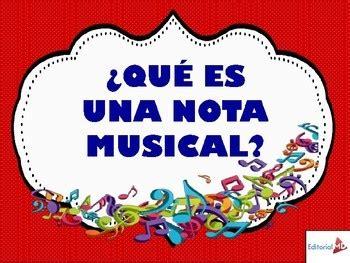 Notas Musicales para Niños MATERIAL PARA IMPRIMIR by ...