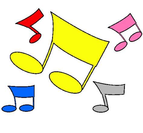 Notas musicales son bordes para colorear   Imagui