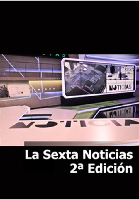 Noticias 2 La Sexta | Programación TV