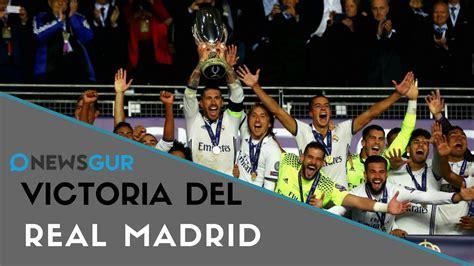 Noticias de Hoy: El Real Madrid derrota al Manchester ...